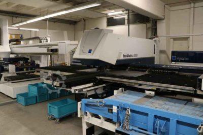 CNC-Stanz-Lasermaschine Trumpf Trumatic 3000 fiber