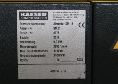 Schraubenkompressor Kaeser Aircenter SM 15-11 | Bild 12