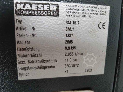 Schraubenkompressor Kaeser Aircenter SM 15-T | Bild 3