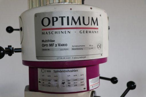 Multifräse Optimum OPTImill MF 2 Vario DPA | Bild 2