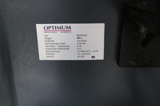 Multifräse Optimum OPTImill MF 2 Vario DPA | Bild 9