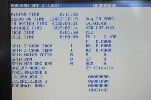 Universalfräsmaschine Deckel FP2NC Dialog 4 | Bild Display