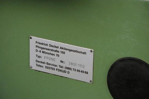 Universalfräsmaschine Deckel FP2NC Dialog 4 | Bild 6