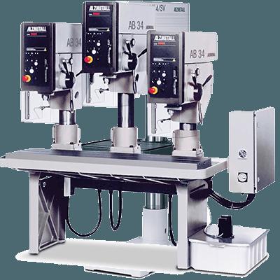 Alzmetall Reihenbohrmaschinen der RFT-Serie