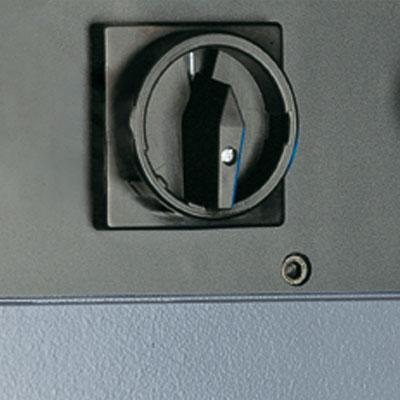 Alzmetall AX 2-T/S Der Wenderschalter als Optionsmöglichkeit
