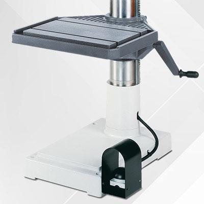 Geschwindeschneideinrichtung als Option für Alzmetall AX 2-T/S Tischbohrmaschinen