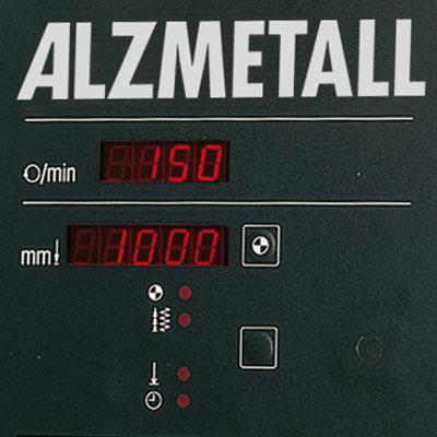 Digitale Bohrtiefenanzeige als Option für Alzmetall AX 2-T/S Tischbohrmaschinen