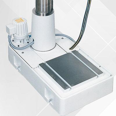 AX-Option 41: Kühlmittelgrundplatte