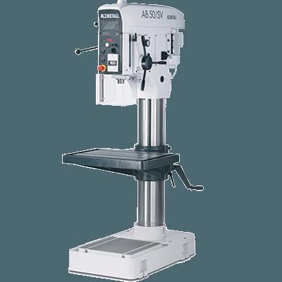 Alzmetall Säulenbohrmaschinen und Halbständerbohrmaschinen der AB-Serie