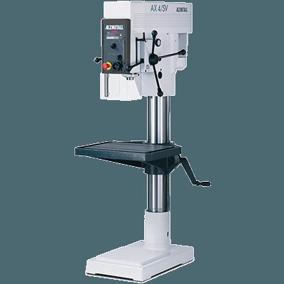 Alzmetall Säulenbohrmaschinen und Tischbohrmaschinen der AX-Serie