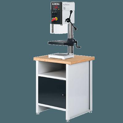 Alzmetall Säulenbohrmaschinen und Tischbohrmaschinen der ALZTRONIC-Serie