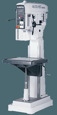 Alzmetall AB 50 Halbständerbohrmaschine mit Vorschub