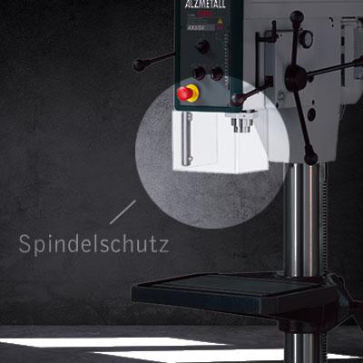Highlight der AX 2-T/S: Der Spindelschutz