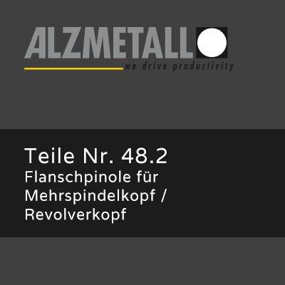 AX-Option 48.2: Flanschpinole