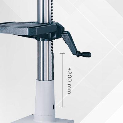 AB-Option 42: Säule verlängert  (200mm)