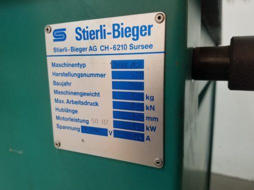 STIERLI-BIEGER 120HE Horizontale Biegepresse | Bild 5