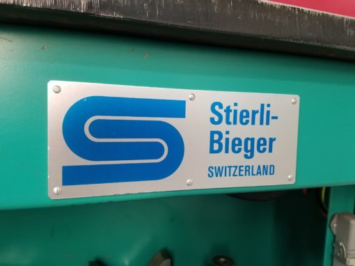 STIERLI-BIEGER 120HE Horizontale Biegepresse | Bild 7