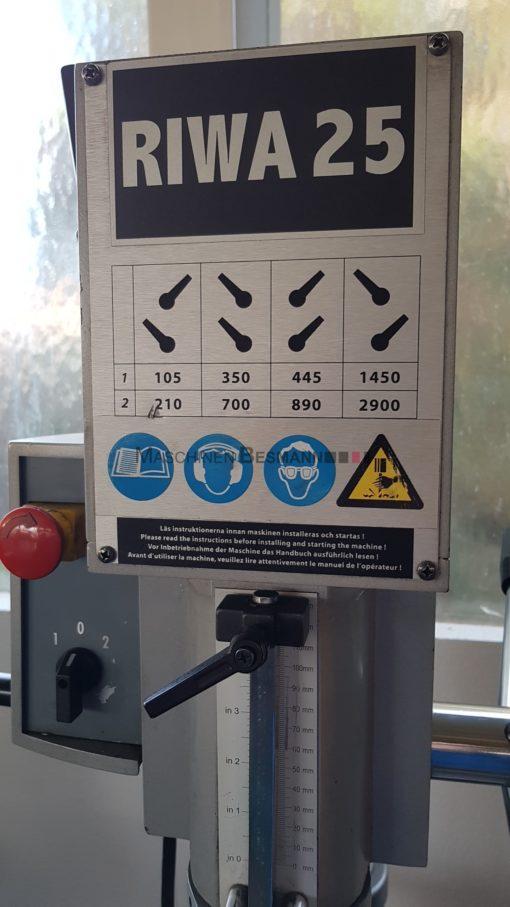 Saeulenbohrmaschine Getriebebohrmaschine RIWA 25 | Bild 2