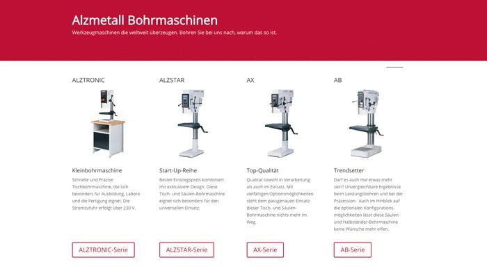 ALZMETALL Bohrmaschinen