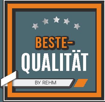 REHM Qualitätssiegel: Höchste Qualitätsstandards - mit Liebe zusammenschweißt