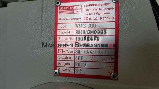 Metallkaltkreissäge Behringer Eisele VMS 300