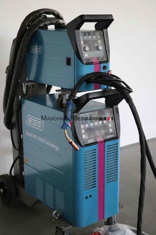 MIG-MAG Schweißgerät ESS E2-5500 RMT DUO MIG/MAG Puls