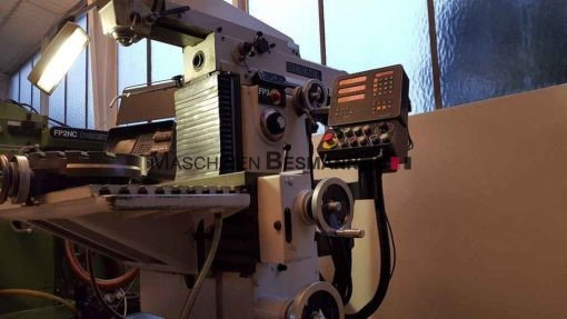Universalfräsmaschine Deckel FP3 aktiv