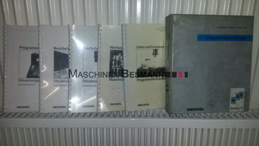Universalfräsmaschine Deckel FP4CC/T Dialog 11 (08)