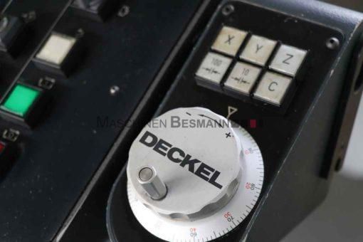 Universalfräsmaschine Deckel FP4A (06)
