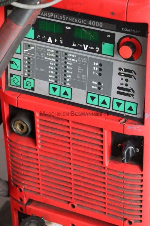 MIG MAG Schweißgerät Fronius TPS 4000 (06)