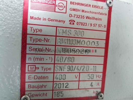 BEHRINGER EISELE VMS 300 Metallkreissäge