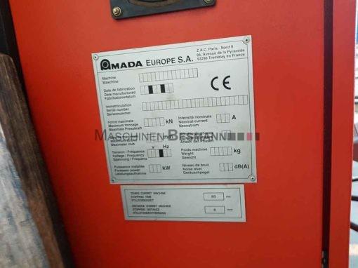 Hydraulische Abkantpresse AMADA HFB 8025