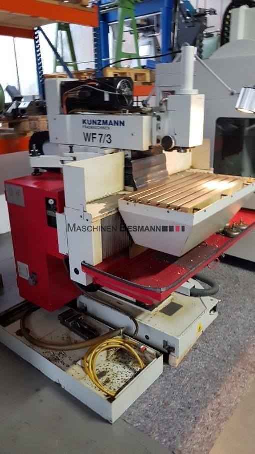 Kunzmann WF 7-3 Universalfräsmaschine