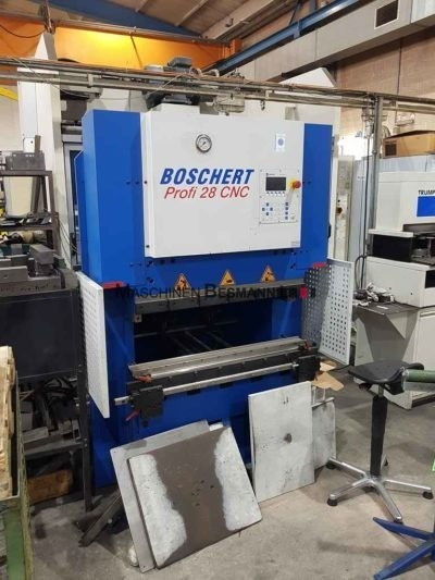 Abkantpresse Boschert Profi 28 CNC 1000