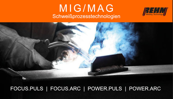Rehm MIG/MAG Technologie
