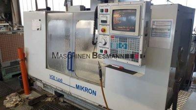CNC Vertikalfräsmaschine Mikron Haas VCE 1250 4. Achse