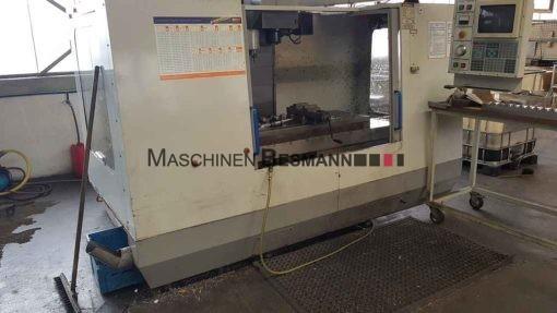 CNC Vertikalfräsmaschine Mikron Haas VCE 1000 4. Achse